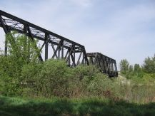 CP bridge across Red Deer River